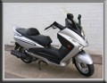 Sym Firenze scooter for hire