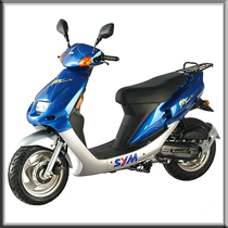 Sym Red Devil 50cc Sports Scooter It S Got The Looks Performance And Value