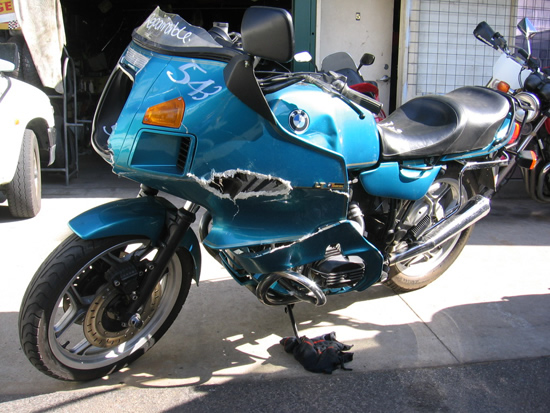 Bmw R100 For Wrecking