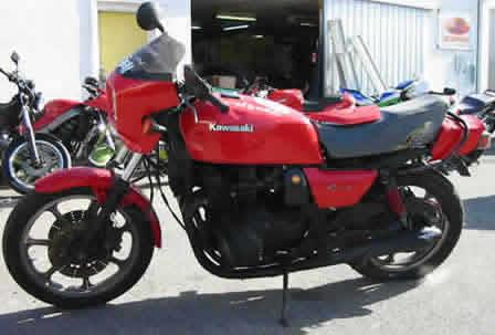 Kawasaki Gpz B